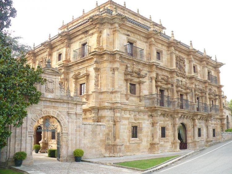 Palacio de Soñanes en Villacarriedo